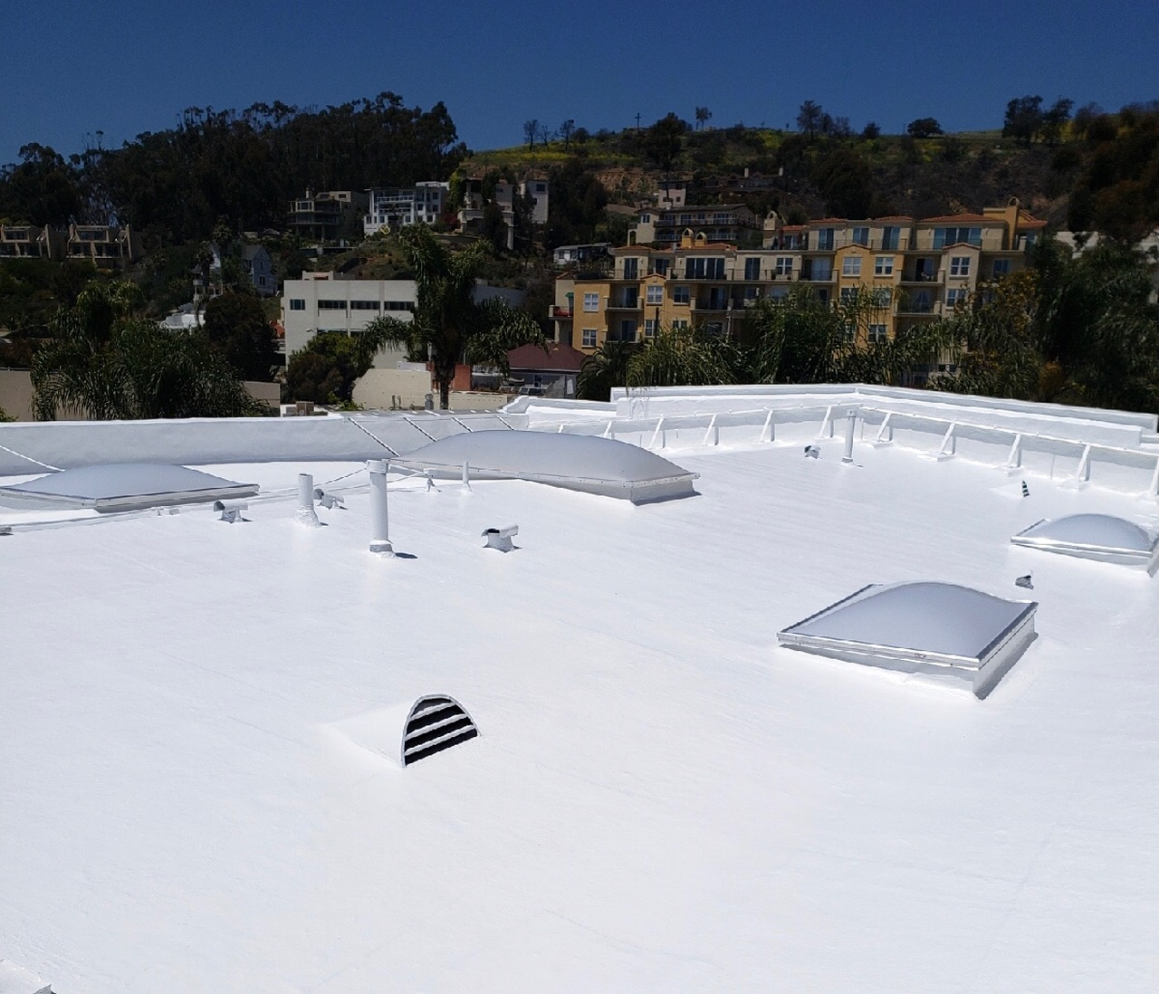 Fluid-applied Cool Roof Benefits