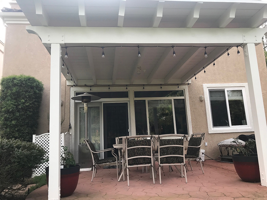 Convert Your Lattice Patio Cover To A, How To Build A Lattice Patio Cover