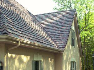 Custom Brushed Roof Tile
