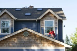 do it yourself roof repair home damage leaks