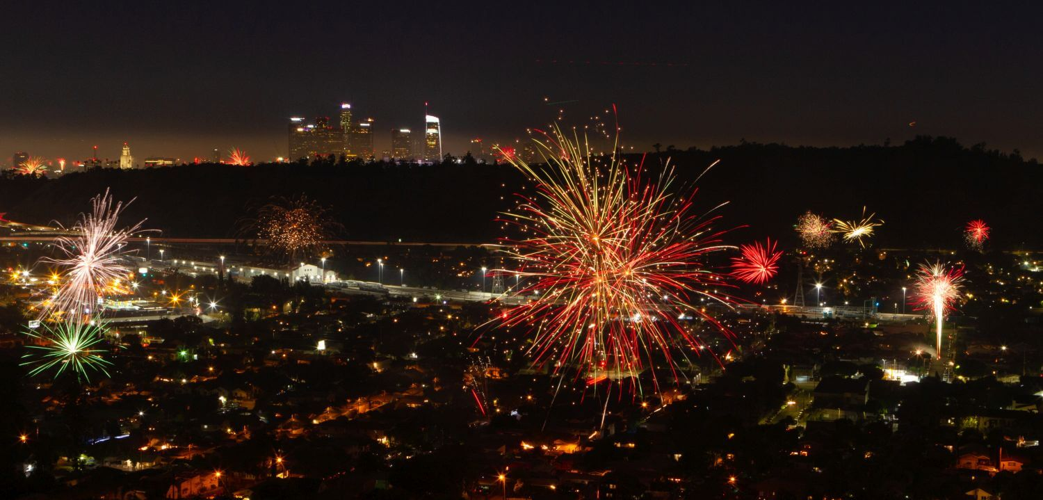 Fireworks and Your Roof july